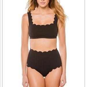 Marysia Palm Springs Scalloped bikini bottom